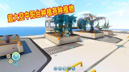 深海迷航22:郎哥突发奇想建造空中阳台 种植各种植物