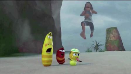 爆笑虫子:火山喷发,沙雕亲眼目睹自己的海狗被降层