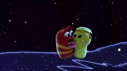 爆笑虫子:红虫梦中进入平行宇宙和女友约会,拆了一艘船