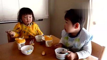 妹妹重要还是美食重要,最后妹妹表示:我肯定是遇到了个假哥哥哦