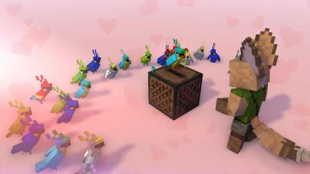 我的世界动画-鹦鹉群舞