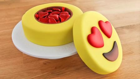 蛋糕的创意新吃法:牛人把它做成熟悉的QQ表情,快来看看像不