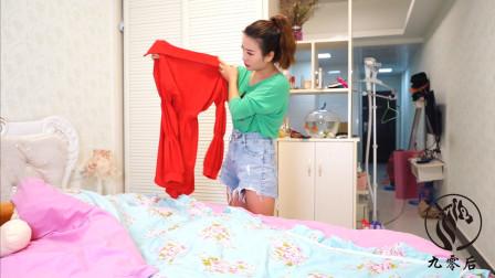 出差回家,发现家里有其他女人的衣服,当妻子得知实情后嚎啕大哭