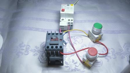 电工知识:接触器为什么会嗡嗡响?其实原理很简单,手把手演示,一看就明白