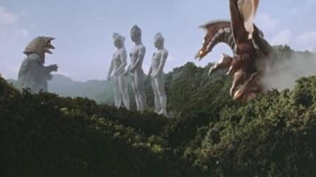 两位奥特曼为了争夺大古,被怪兽干掉,只有迪迦活了下来!