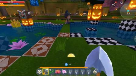 迷你世界回声解说 第二季 庄园的门面 双色圈圈喷泉的改造计划