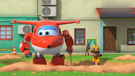 超级飞侠:金刚召唤工程车,意图挖穿地球,他可真是太狂了