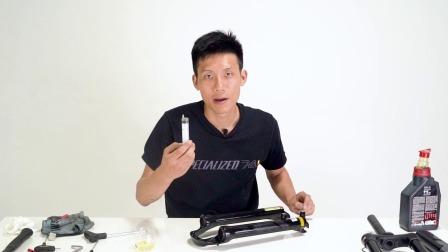 """单车机械师2019 EP6:前叉拆解滑管推油术向""""涩涩""""发抖说再见"""