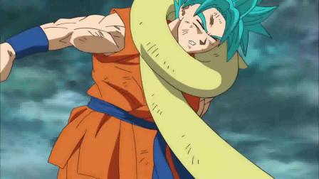 《龙珠》悟空不敌弗利萨,他被弗利萨揍的遍体鳞伤