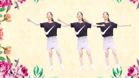 时尚活力广场舞《鸳鸯泪》简单易学,看一遍就会跳了