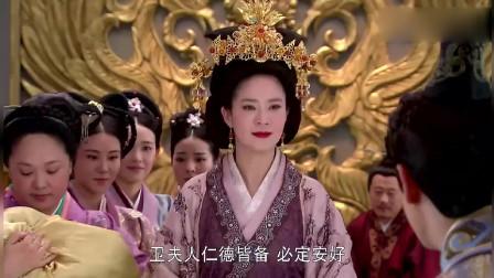 卫子夫:卫子夫以命相搏,为刘彻诞下一子,刘彻大赦天下