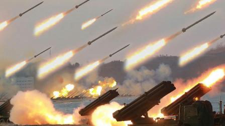 """挑衅志愿军的后果:1100门火炮怒吼30分钟,1900吨""""炮弹雨""""轰哭美军"""