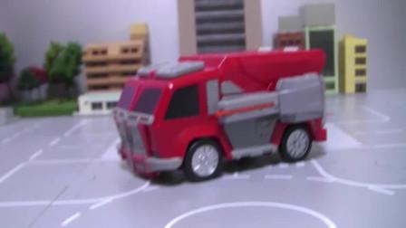 迷你特工队玩具拼装- 塞米变身机甲