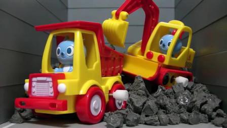 迷你特工队玩具展示 迷你特工队处理车祸