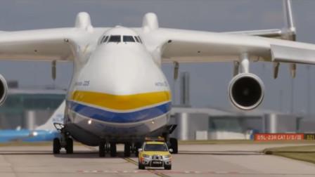 全球最大的飞机,载客量是普通飞机的20倍,曾运送过一辆火车
