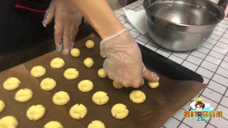 简单易学玛格丽特饼干,农村宝妈教你做!7个月宝宝就可以吃