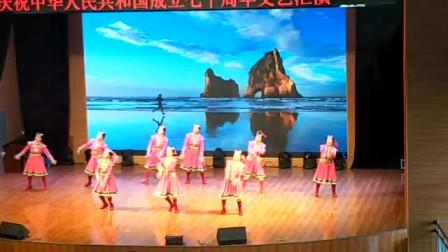 通辽市首届老年人艺术节--俏额吉健身队-《草原情》