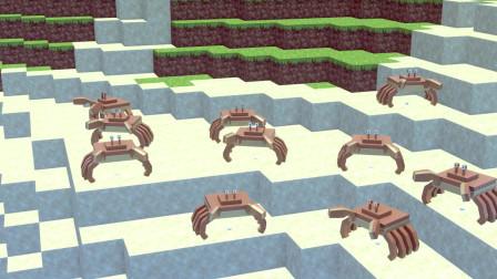 我的世界动画-螃蟹之舞-LoHit