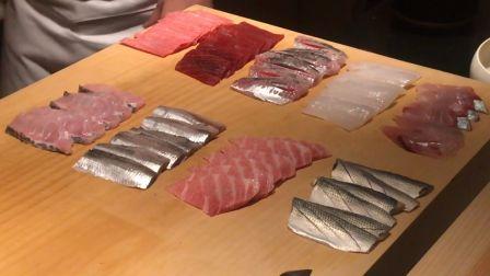 日本东京【鮨 利﨑】家22000日元的无菜单寿司晚餐~