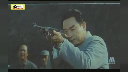 一代伟人打靶,朱老总周总理弹无虚发,毛主席第一次打靶