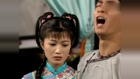 韦小宝得知阿珂去了台湾,心里很难过,还好有双儿这样体贴的老婆!