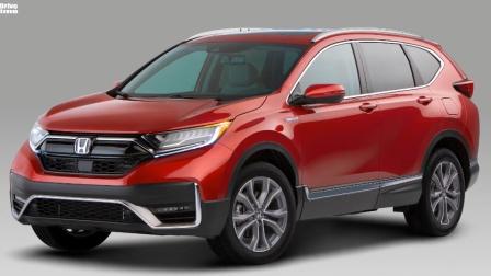 细节欣赏,2020款 本田 CR-V facelift Hybrid-Electric