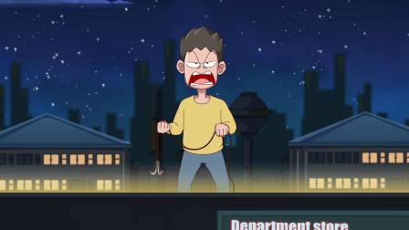 深夜两名男子楼顶对决没想到会是这样的结局