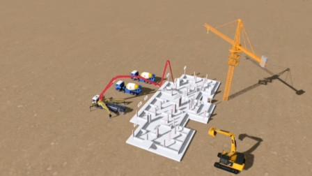 建筑施工现场模拟动画2