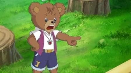 小熊为了百年庆典练习跳舞,可效果并不理想