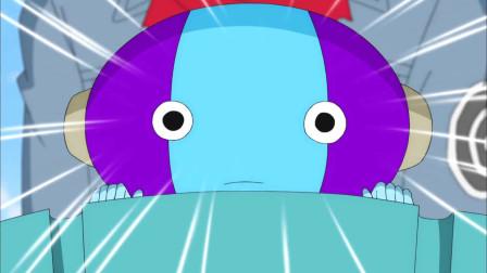 《龙珠》悟空从未来带回一个小朋友,让比鲁斯大吃一惊惊慌失措