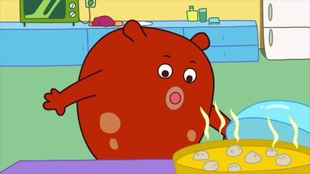 咕力咕力-失手的大厨 奇怪的食物宝宝不吃