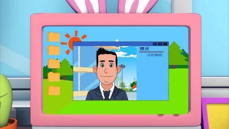 棉花糖和蓝天爸爸视频,让蓝天爸爸拍照片给她,拿去把照片P上!