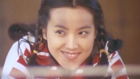 《排球女将》纯子的晴空霹雳一出场,全场震憾了!