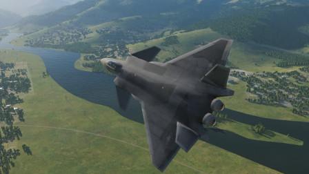 1架歼20对战6架F15J战斗机,胜算有多大?战争模拟