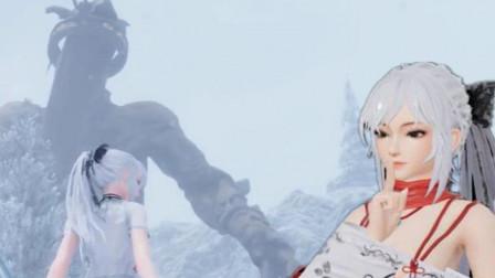 【小握解说】美女大战雪山大怪《女士与刀锋》第4期