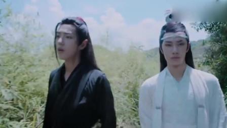 陈情令:蓝湛和魏婴进入义城,竟被迷雾包围,魏婴:风水真差