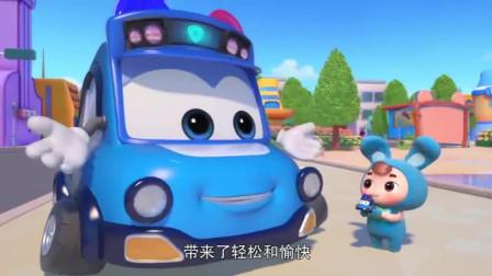 百变校巴:购物车失控了,逗逗出手相救,及时救下孩子们