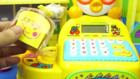 小企鹅波鲁鲁的卡通收银机_玩具三分钟