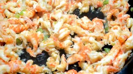 小龙虾怎么做好吃?美女加入空心粉芝士,胃口大开