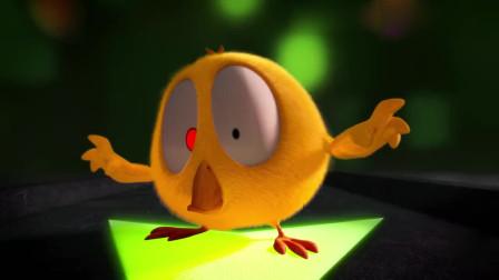 小鸡Jaki在哪儿:鸡仔来万圣节南瓜屋,灯泡忽闪忽闪,吓坏了