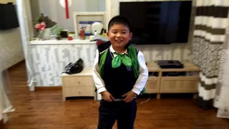 【7岁半】11-12哈哈表演《变橡皮魔术》video_160655