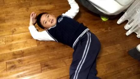 【7岁半】11-13哈哈躺在地上被语文词语video_180749