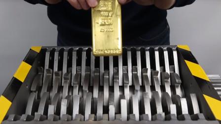 这波亏大了,价值30万的黄金说碎掉就碎掉,这碎渣我能带走吗