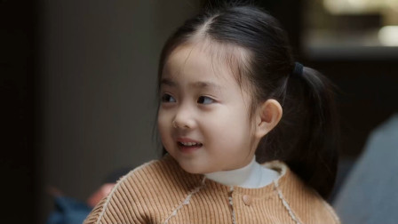 可爱的乐乐人人要,一家一天宠成宝,严严完成要个女儿的的心愿
