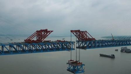 天堑变通途!沪通大桥合龙 南通到上海将缩短至1小时左右