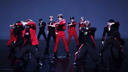 X1-《FLASH》特别舞蹈镜像版,黑红制服帅气撩人