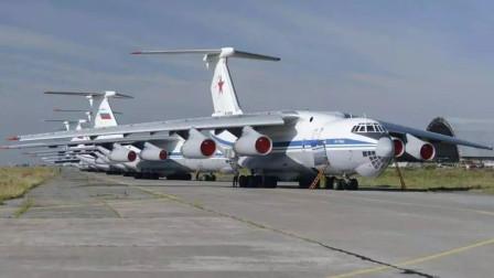 俄上百架大飞机同时起飞,运20被甩开太远