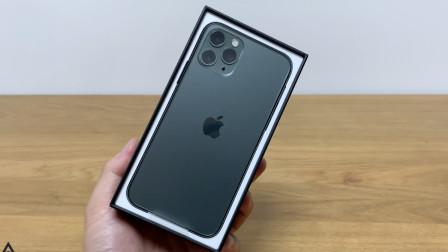 iPhone 11 Pro新机开箱:午夜绿真漂亮!
