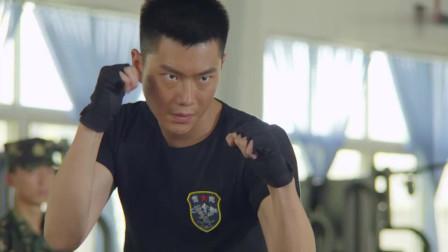 雪域雄鹰;队员格斗训练破绽太多,教官亲自上阵,用简单实用的招式击败对手
