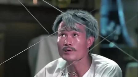 鬼片:林正英和秋生赶到,用道术重伤僵尸王,吓得它赶紧逃跑